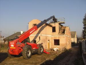 demontaż budynków