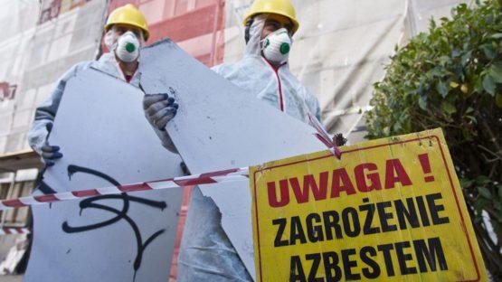 Odbiór eternitu - azbestu