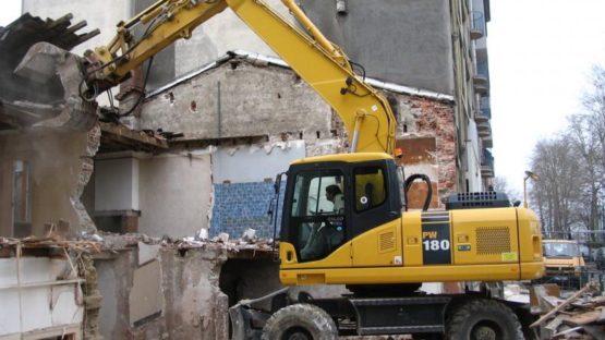 Rozbiórki, wyburzenia budynków