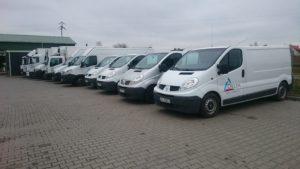 flota samochodów